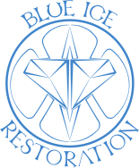 Blue Ice Restoration logo